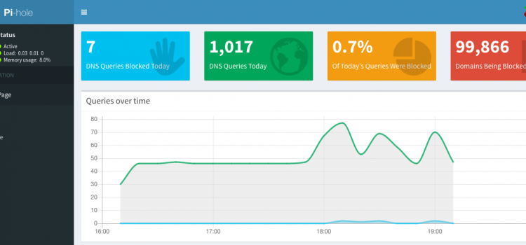 PiHole – The answer to network level Ad Blocking