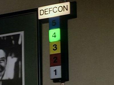 DEFCON Sign